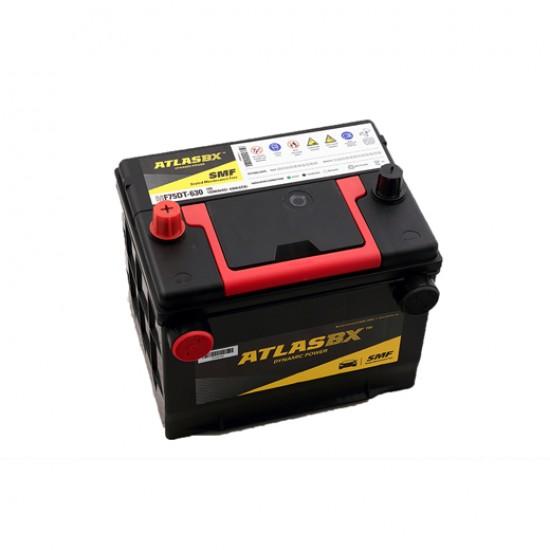 Μπαταρία AtlasBX MF75DT-630 Sealed Maintenance Free | 75AH / Volt:12 / EN:630 / Πολικότητα: Αριστερά το +
