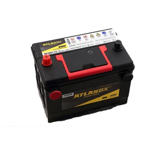 Μπαταρία AtlasBX MF78DT-710 Sealed Maintenance Free | 80AH / Volt:12 / EN:710 / Πολικότητα: Αριστερά το +