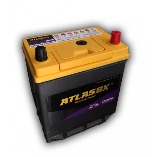 Μπαταρία AtlasBX UMF55B19L Ultra High Performance | 45AH / Volt:12 / EN:400 / Πολικότητα: Δεξιά το +