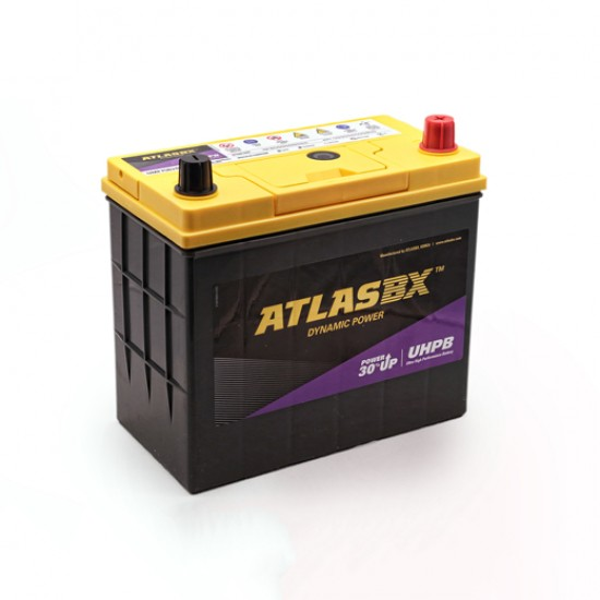 Μπαταρία AtlasBX UMF75B24LS Ultra High Performance | 55AH / Volt:12 / EN:500 / Πολικότητα: Δεξιά το +
