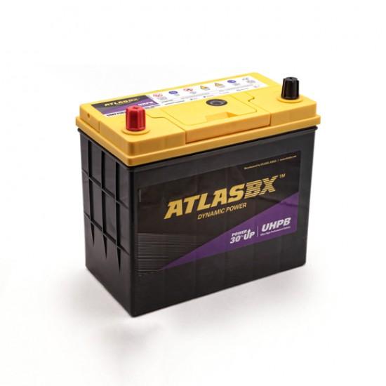 Μπαταρία AtlasBX UMF75B24R Ultra High Performance | 55AH / Volt:12 / EN:500 / Πολικότητα: Αριστερά το +