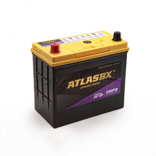 Μπαταρία AtlasBX UMF75B24RS Ultra High Performance | 55AH / Volt:12 / EN:500 / Πολικότητα: Αριστερά το +