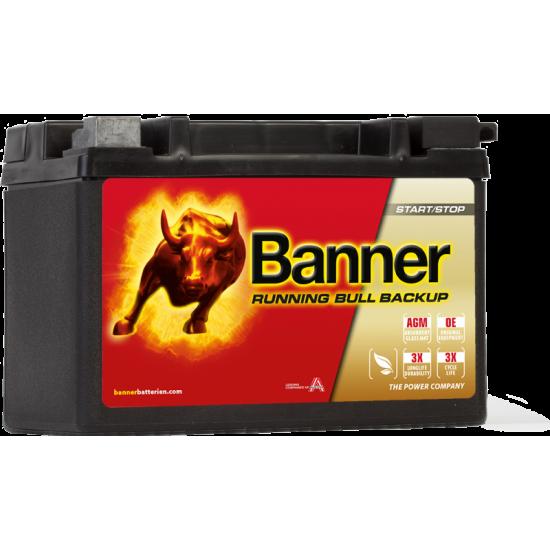 Μπαταρία Banner 50900 RUNNING BULL - BackUp | 9AH / Volt:12 / EN:120 / Πολικότητα: Αριστερά το +