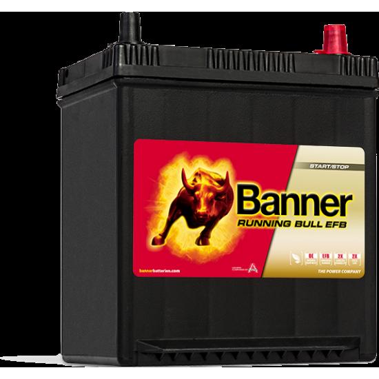 Μπαταρία Banner 53815 RUNNING BULL - EFB | 38AH / Volt:12 / EN:400 / Πολικότητα: Δεξιά το +