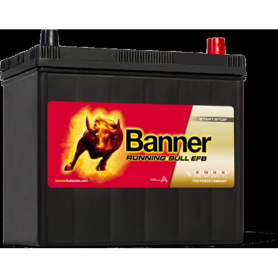 Μπαταρία Banner 55515 RUNNING BULL - EFB | 55AH / Volt:12 / EN:460 / Πολικότητα: Δεξιά το +