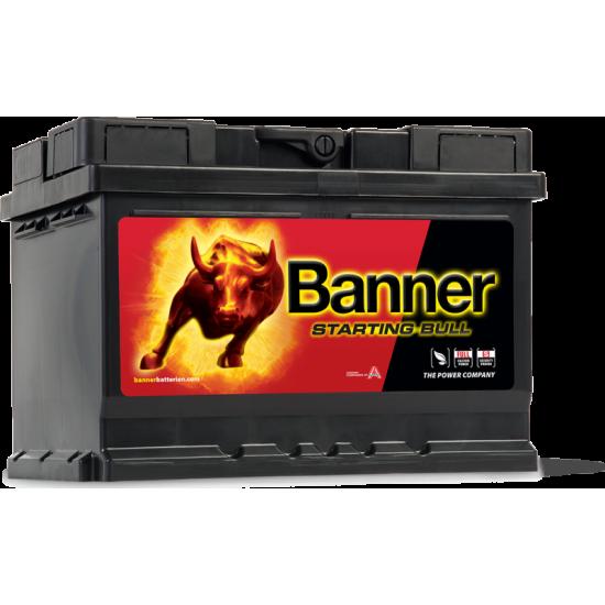 Μπαταρία Banner 55519 STARTING BULL 12V | 55AH / Volt:12 / EN:450 / Πολικότητα: Δεξιά το +