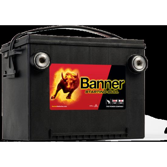 Μπαταρία Banner 56010 STARTING BULL 12V | 60AH / Volt:12 / EN:675 / Πολικότητα: Αριστερά το +