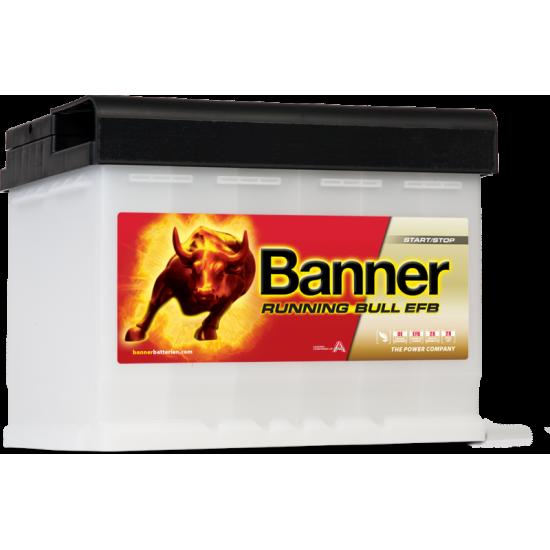 Μπαταρία Banner 56011 RUNNING BULL - EFB | 60AH / Volt:12 / EN:560 / Πολικότητα: Δεξιά το +