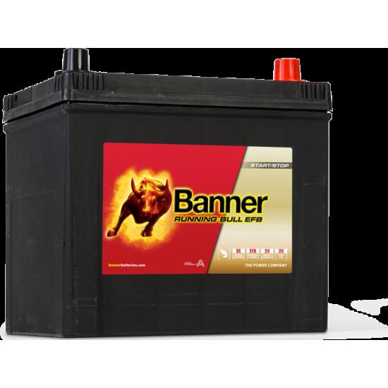 Μπαταρία Banner 56515 RUNNING BULL - EFB | 65AH / Volt:12 / EN:550 / Πολικότητα: Δεξιά το +