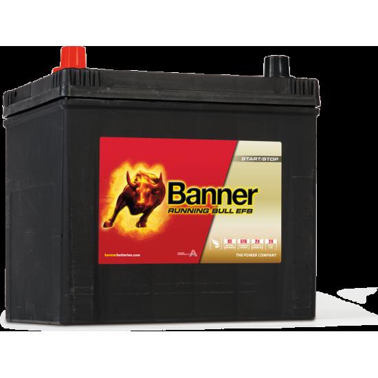Μπαταρία Banner 56516 RUNNING BULL - EFB | 65AH / Volt:12 / EN:550 / Πολικότητα: Αριστερά το +