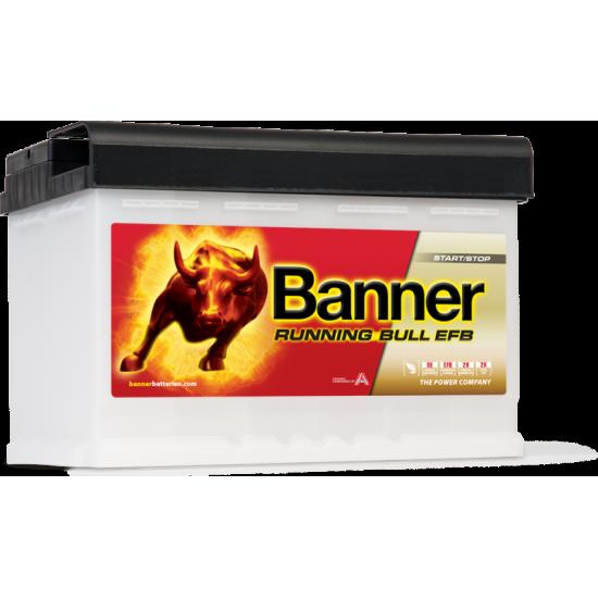 Μπαταρία Banner 57011 RUNNING BULL - EFB | 70AH / Volt:12 / EN:660 / Πολικότητα: Δεξιά το +