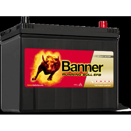 Μπαταρία Banner 57015 RUNNING BULL - EFB | 70AH / Volt:12 / EN:680 / Πολικότητα: Δεξιά το +