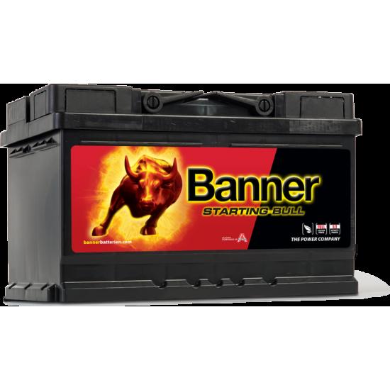 Μπαταρία Banner 57044 STARTING BULL 12V | 70AH / Volt:12 / EN:640 / Πολικότητα: Δεξιά το +