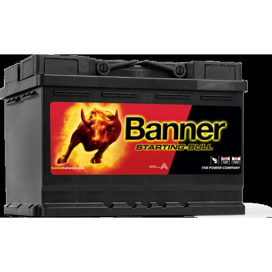 Μπαταρία Banner 57212 STARTING BULL 12V | 72AH / Volt:12 / EN:650 / Πολικότητα: Δεξιά το +