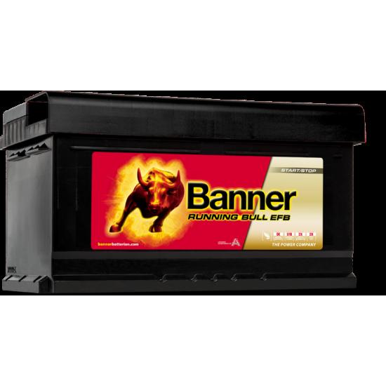 Μπαταρία Banner 57512 RUNNING BULL - EFB | 75AH / Volt:12 / EN:730 / Πολικότητα: Δεξιά το +