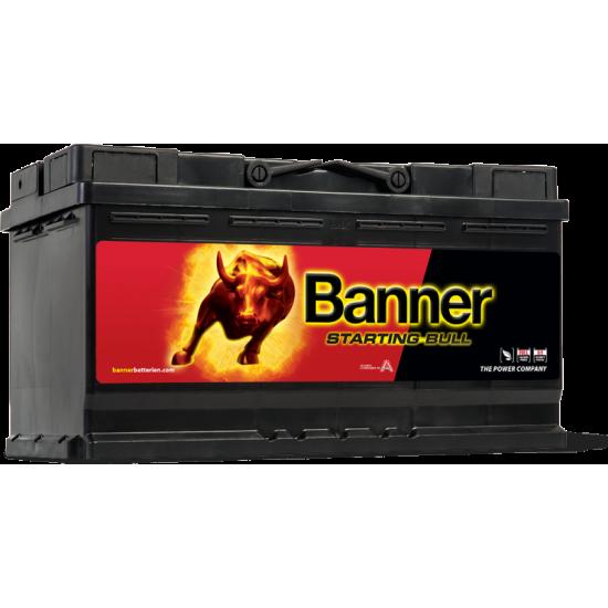 Μπαταρία Banner 59533 STARTING BULL 12V | 95AH / Volt:12 / EN:740 / Πολικότητα: Δεξιά το +