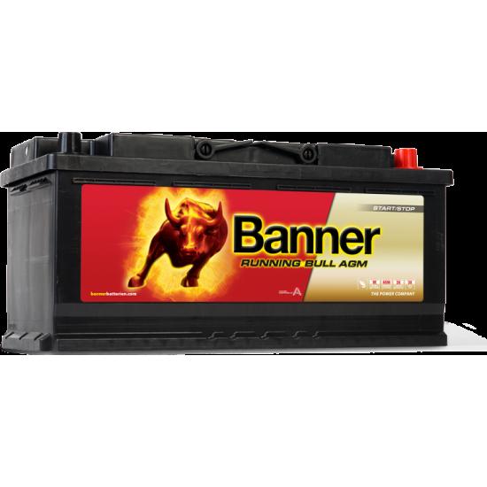 Μπαταρία Banner 60501 RUNNING BULL - AGM | 105AH / Volt:12 / EN:950 / Πολικότητα: Δεξιά το +