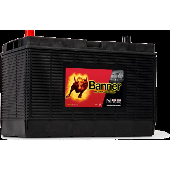 Μπαταρία Banner 60502 BUFFALO BULL | 105AH / Volt:12 / EN:1000 / Πολικότητα: Δεξιά το + (Κέντρο)