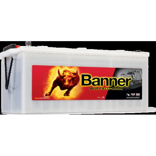 Μπαταρία Banner 72511 BUFFALO BULL | 225AH / Volt:12 / EN:1050 / Πολικότητα: Αριστερά το + (Πλάι)