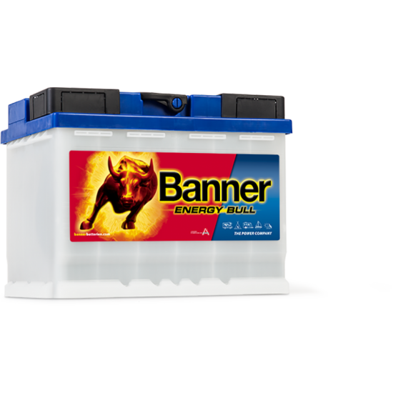 Μπαταρία Banner 95501 ENERGY BULL | 60AH / Volt:12 / EN:- / Πολικότητα: Δεξιά το +
