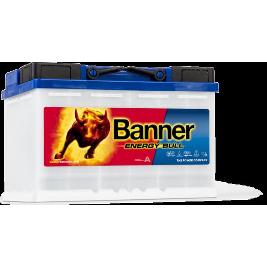 Μπαταρία Banner 95601 ENERGY BULL | 80AH / Volt:12 / EN:- / Πολικότητα: Δεξιά το +