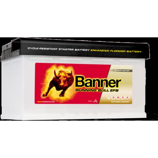 Μπαταρία Banner 58011 RUNNING BULL - EFB | 80AH / Volt:12 / EN:780 / Πολικότητα: Δεξιά το +