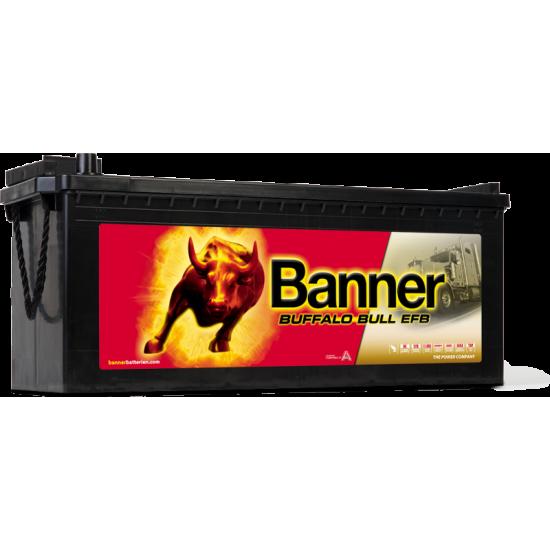 Μπαταρία Banner EFB 74017 BUFFALO BULL EFB | 240AH / Volt:12 / EN:1200 / Πολικότητα: Αριστερά το + (Πλάι)