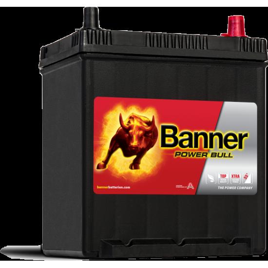 Μπαταρία Banner P4025 POWER BULL | 40AH / Volt:12 / EN:330 / Πολικότητα: Δεξιά το +