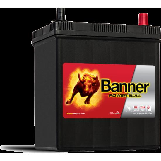Μπαταρία Banner P4026 POWER BULL | 40AH / Volt:12 / EN:330 / Πολικότητα: Δεξιά το +