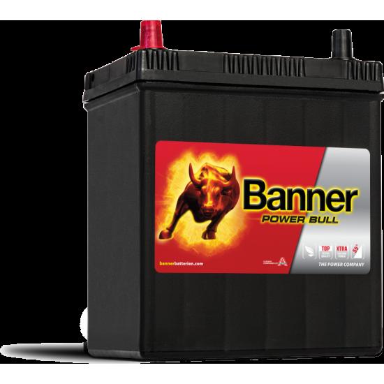 Μπαταρία Banner P4027 POWER BULL | 40AH / Volt:12 / EN:330 / Πολικότητα: Αριστερά το +