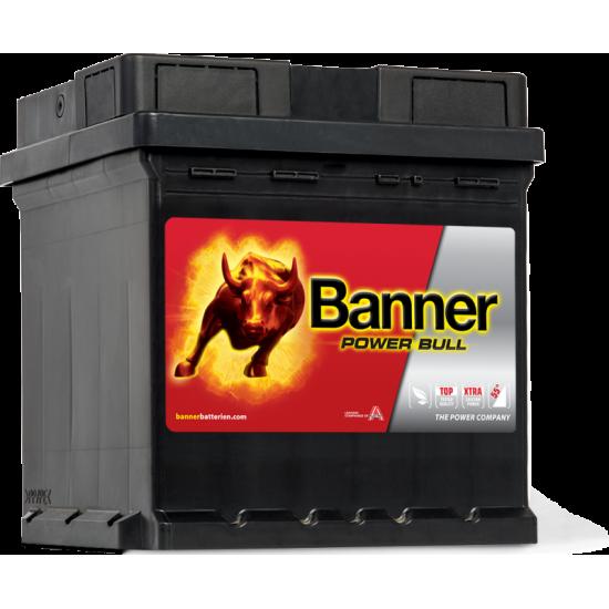 Μπαταρία Banner P4208 POWER BULL | 42AH / Volt:12 / EN:390 / Πολικότητα: Δεξιά το +
