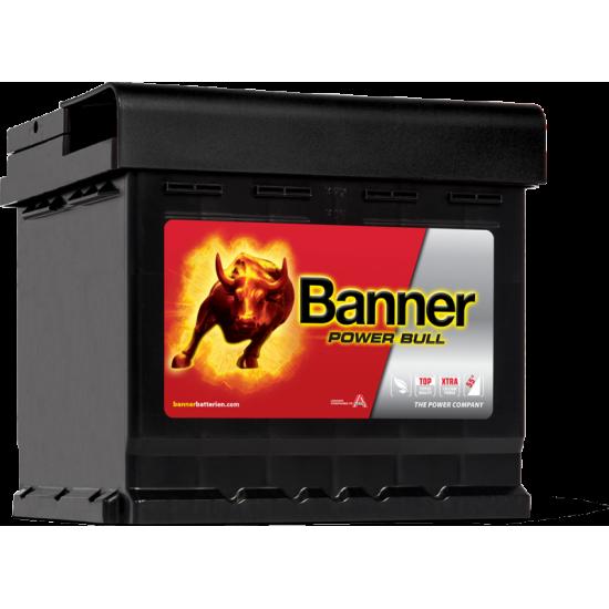 Μπαταρία Banner P4409 POWER BULL | 44AH / Volt:12 / EN:420 / Πολικότητα: Δεξιά το +