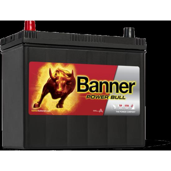 Μπαταρία Banner P4524 POWER BULL | 45AH / Volt:12 / EN:390 / Πολικότητα: Αριστερά το +