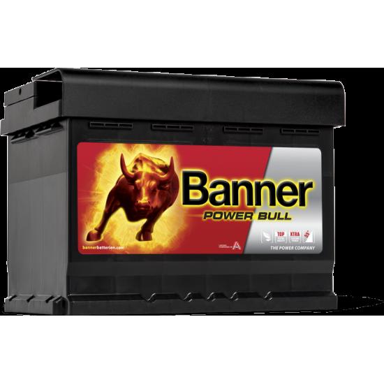 Μπαταρία Banner P6009 POWER BULL | 60AH / Volt:12 / EN:540 / Πολικότητα: Δεξιά το +