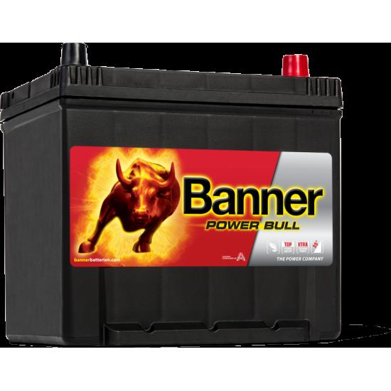 Μπαταρία Banner P6062 POWER BULL | 60AH / Volt:12 / EN:510 / Πολικότητα: Δεξιά το +