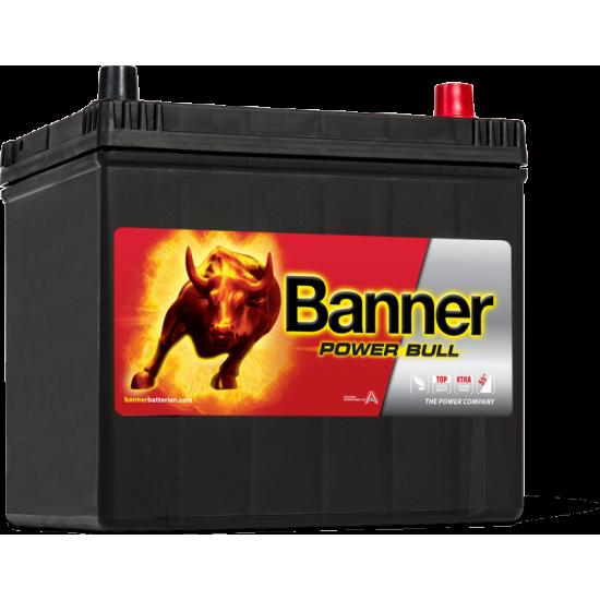 Μπαταρία Banner P6068 POWER BULL | 60AH / Volt:12 / EN:510 / Πολικότητα: Δεξιά το +