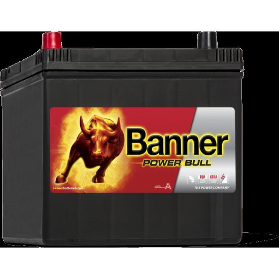 Μπαταρία Banner P6069 POWER BULL | 60AH / Volt:12 / EN:510 / Πολικότητα: Αριστερά το +