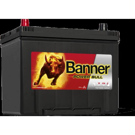 Μπαταρία Banner P7024 POWER BULL | 70AH / Volt:12 / EN:600 / Πολικότητα: Αριστερά το +