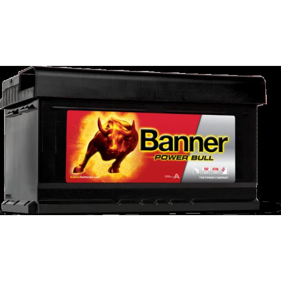 Μπαταρία Banner P8014 POWER BULL | 80AH / Volt:12 / EN:700 / Πολικότητα: Δεξιά το +