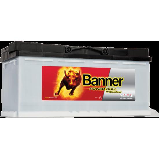 Μπαταρία Banner PRO P11040 POWER BULL PRO | 110AH / Volt:12 / EN:900 / Πολικότητα: Δεξιά το +