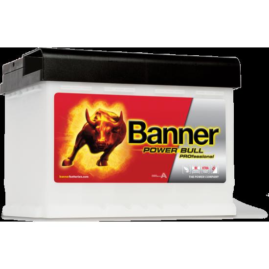 Μπαταρία Banner PRO P6340 POWER BULL PRO | 63AH / Volt:12 / EN:620 / Πολικότητα: Δεξιά το +