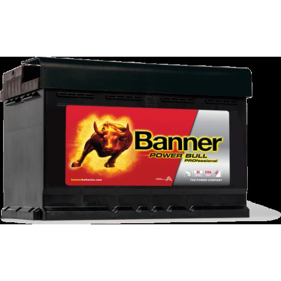 Μπαταρία Banner PRO P7742 POWER BULL PRO   77AH / Volt:12 / EN:680 / Πολικότητα: Δεξιά το +