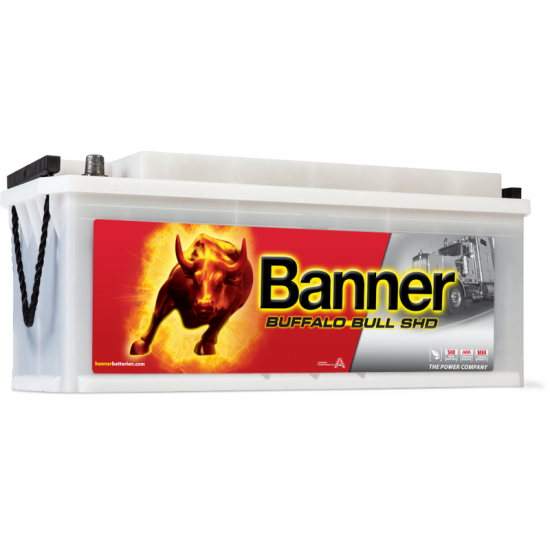 Μπαταρία Banner SHD 61040 BUFFALO BULL SHD | 110AH / Volt:12 / EN:760 / Πολικότητα: Αριστερά το + (Πλάι)