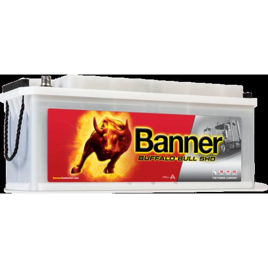 Μπαταρία Banner SHD 63544 BUFFALO BULL SHD | 135AH / Volt:12 / EN:900 / Πολικότητα: Αριστερά το + (Πλάι)