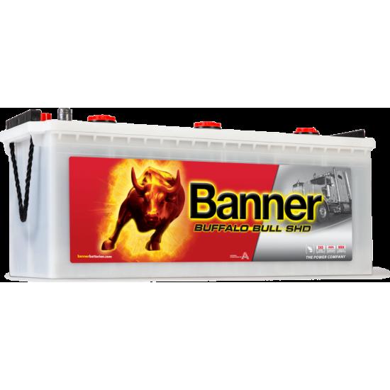 Μπαταρία Banner SHD 64035 BUFFALO BULL SHD | 140AH / Volt:12 / EN:800 / Πολικότητα: Αριστερά το + (Πλάι)