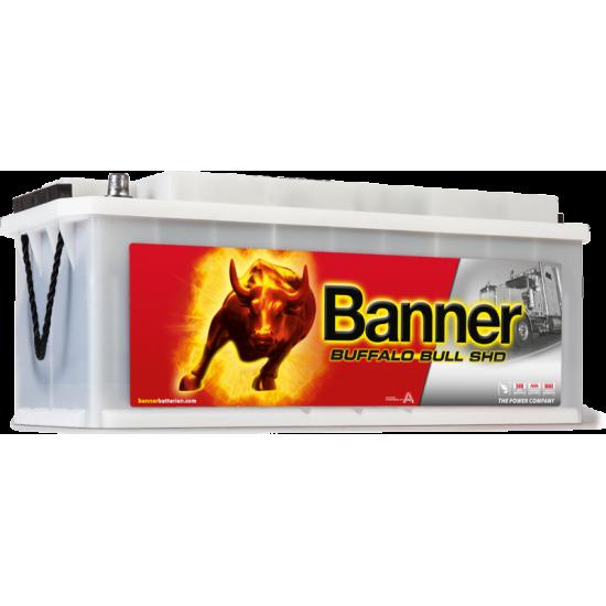 Μπαταρία Banner SHD 67033 BUFFALO BULL SHD | 170AH / Volt:12 / EN:1000 / Πολικότητα: Αριστερά το + (Πλάι)