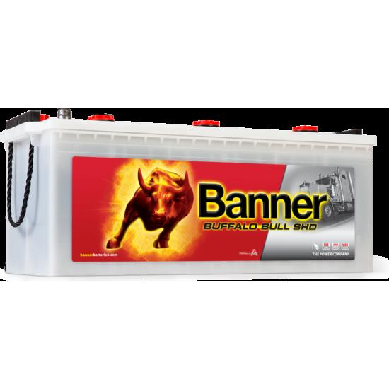 Μπαταρία Banner SHD 68032 BUFFALO BULL SHD | 180AH / Volt:12 / EN:1000 / Πολικότητα: Αριστερά το + (Πλάι)