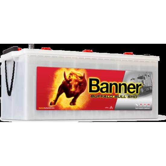 Μπαταρία Banner SHD 72511 BUFFALO BULL SHD | 225AH / Volt:12 / EN:1150 / Πολικότητα: Αριστερά το + (Πλάι)