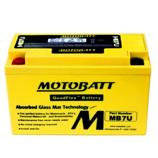 Μπαταρία MOTOBATT MB7U - GEL | 6,5AH / Volt:12 / EN:115 / Πολικότητα: Αριστερά και Δεξιά +