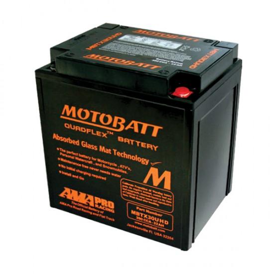 Μπαταρία MOTOBATT MBTX30UHD - GEL | 32AH / Volt:12 / EN:390 / Πολικότητα: Αριστερά και Δεξιά +